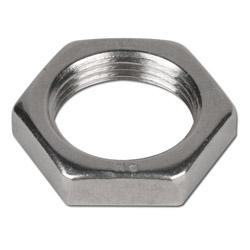 Gegenmutter für Schottverschraubungen - VA - metrisch - Ausführung S