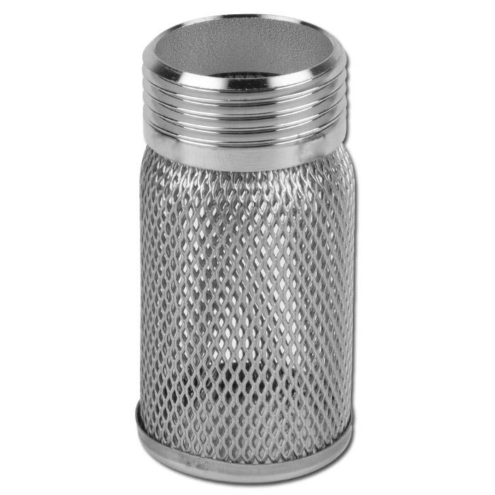 Ansaugsieb Binda Filtro -  Edelstahl - Anschuss 1/2 bis 2 Zoll - Länge 55 bis 101 mm