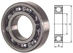 """Rillenkugellager DIN 625 - mit/ohne Abdichtung - DIN 620 Normaltoleranz - Lagerluft CN """"normal"""""""