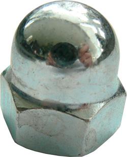 Nakrętka - wysoka forma - 6 stal ocynkowana lub stal nierdzewna A2 - DIN 1587