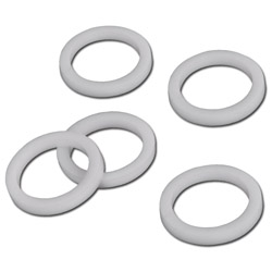 O-ring seal - from Teflon (PTFE) - i 5.3 to 33.5 mm