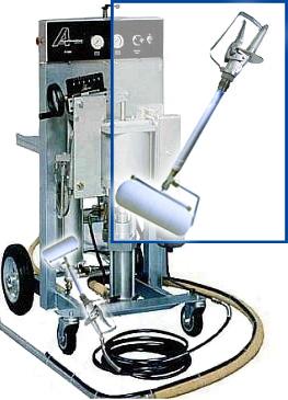 Aplicator - Roller Laminating Machine For Max. 10 l/min - IPL-8000
