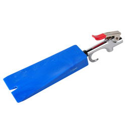 Demoulding Wedge - Equipped With Compressed Air Gun - Blue - 170 x 80 mm