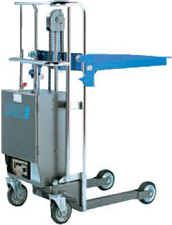 Electric-hydraulic lifting platform HE-P - max. lifting capacity 400 kg