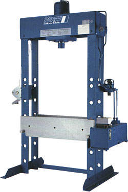Workshop presses HWPEP - 30 to 100 tons - lifting capacity up to 300mm - up to 3