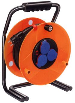 Kabeltrommel Brobusta - diverse Längen - IP44 - Kontroll-Leuchte