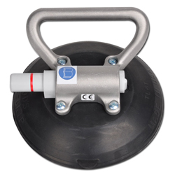 Suction cup - with a hand pump - capacity of 50 kg - 150 mm