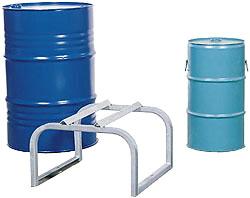 Stand Drum - zincato - per 1 fusto - 600x600x380 mm