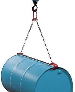 Barrel suspension load max. 1600 kg for 200 l of steel seeping barrel