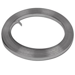 """Bande métallique - Band It Valustrap - acier inoxydable - épaisseur 0,38mm - largeur 3/8"""" à 3/4"""" - longueur 30,5m"""