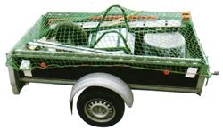 Abdecknetze - Ladungssicherung von Anhängern