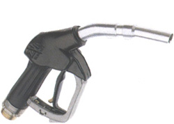Nozzle - aluminium - output 80 l / min - to 4 bar - for fuels and oils - unleade