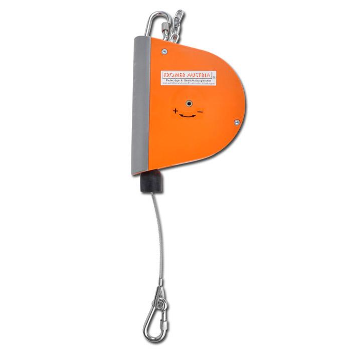 Equilibreur à ressort modèle 7221/7212 - charge 0,5-3,0 kg - câble 2,5 m