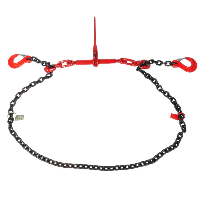Zurrketten - zweiteilig - Länge 3 m-  bis 10000 daN (kg) -  nach DIN EN 12195-2 mit GS Prüfsiegel