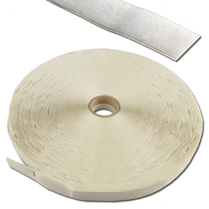 Kardborreband - öglor - för plastytor - självhäftande