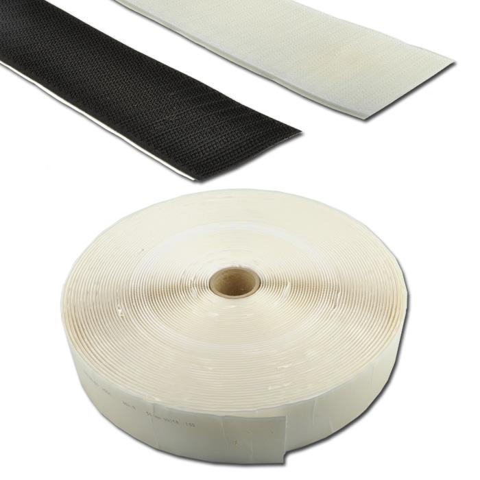 Klebeband - Klett-Hakenband - für Holz und Metall