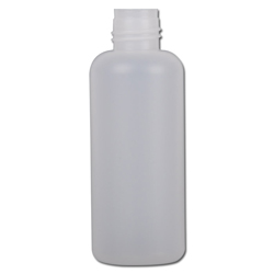 Round bottles 308 HDPE series - round - without closure