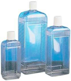 Trånghalsad flaska - serie 310 PVC - fyrkantig - utan lock
