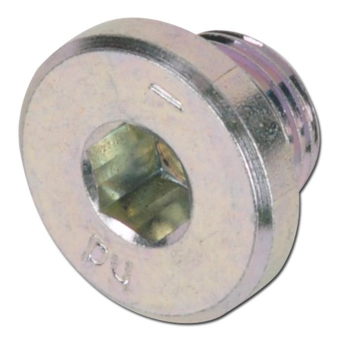 """Otturatore - acciaio zincato - da 7/16"""" a 1 7/8"""" UNF - esagonale"""