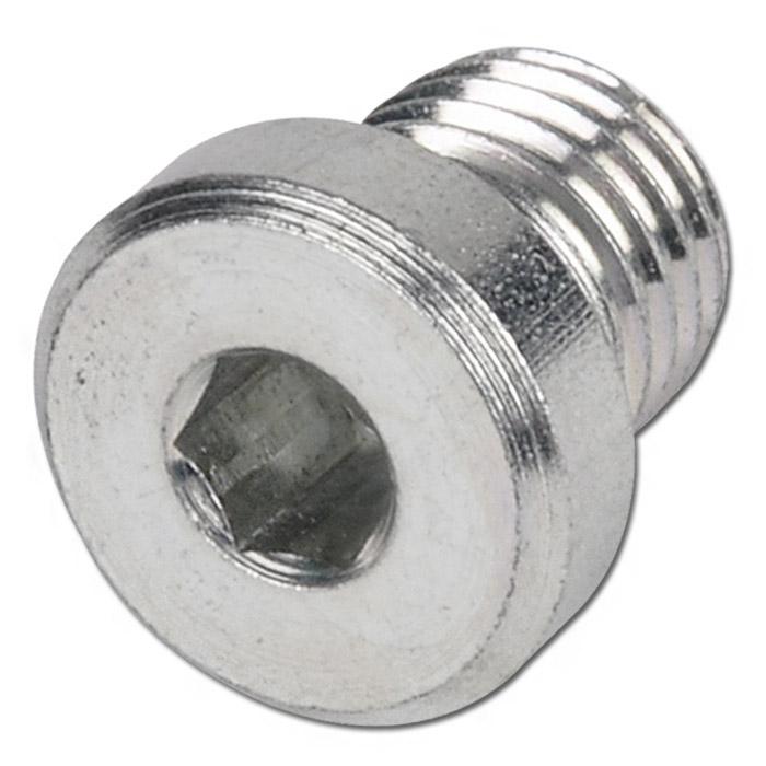 Otturatore in acciaio - da 10x1 a 48x2mm - con guarnizione in elastomero