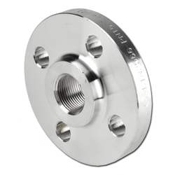 Threaded flange - DIN 2566 - stainless steel