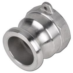 """Camlokkoppling - typ A - hane - rostfritt stål - 1/2""""-6"""" invändig gänga"""