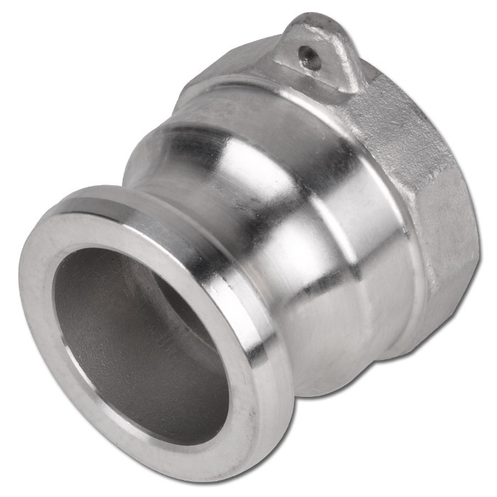 """Camlok Coupling Type A - Male Part - Stainless Steel - 1/2"""" To 6"""" Female - Up To"""