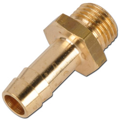 Hose Nozzle With Male Thread - Brass