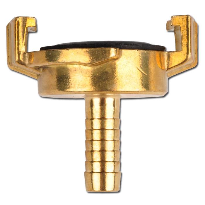 G+K Klauenkupplung - Schlauchanschluss - Messing