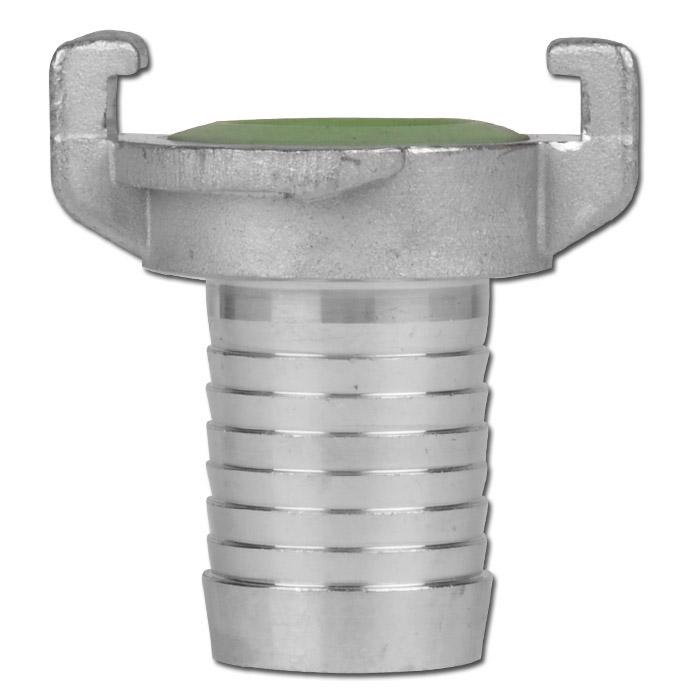 GEKA® Klauenkupplung - Schlauchtülle - Chromstahl - Schlauch-Ø 13 bis 25 mm