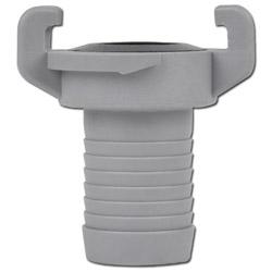 Raccord à douille annelée Geka - polyamide - pour tuyau Ø int. de 10 à 32 mm
