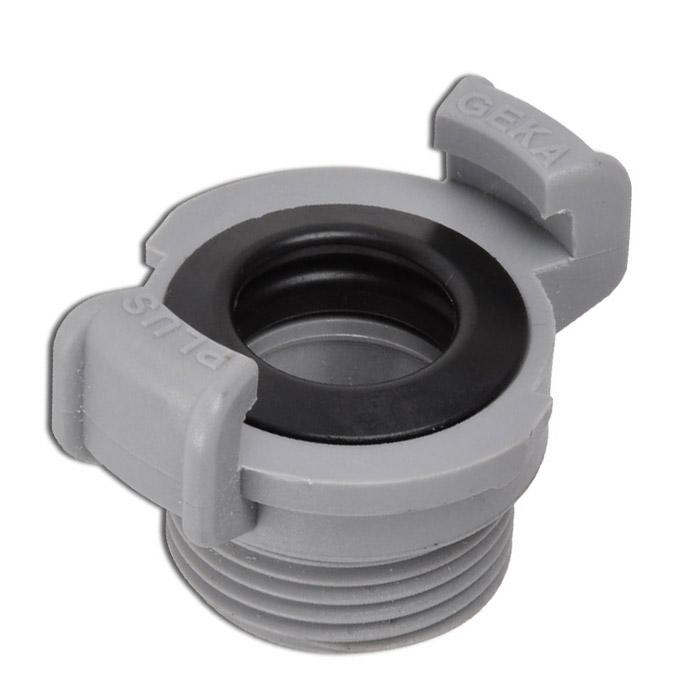 GEKA System - Klauenkupplung - AG - Kunststoff