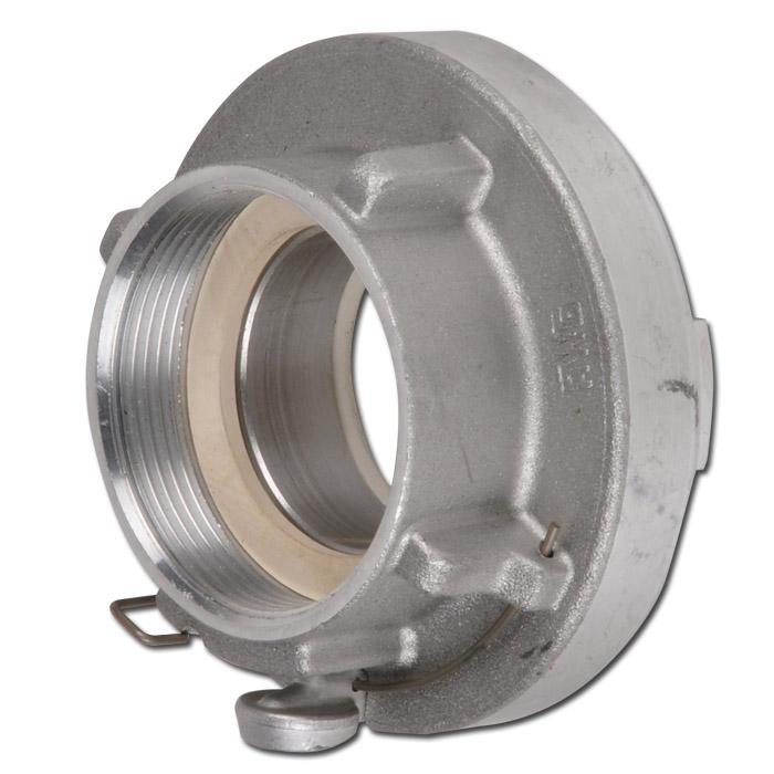 Storz-Festkupplung - Baugröße DIN 52/C - mit Verriegelung - mit Innengewinde