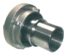 Storz-Schlauchkupplung - Baugröße DIN 25-D, mit drehbaren Schlauchstutzen für Sc