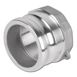 """Camlokkoppling - hane (typ A) - till 16 bar - aluminium - 1/2"""" till 8"""" invändig gänga"""