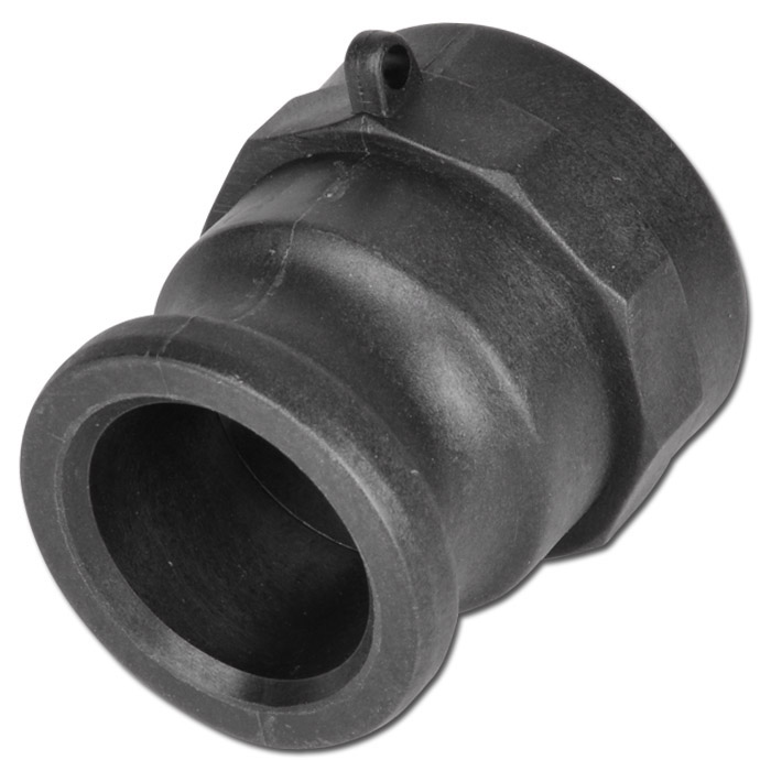 """Camlok coupling Type A - male part - PP - 1 / 2 """"to 4"""" F - up to 16bar"""