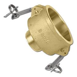 Hebelarmkupplung - Bronze - Mutterteil - Kamlok - Typ B - Außengewinde nach MIL-
