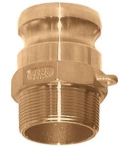 """Camlokkupplung typ F - far del - Brons - 3/4 """"till 4"""" AG"""