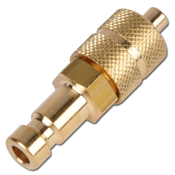 Stickpropp minikoppling - DN 2,7 - med överfallsmutter
