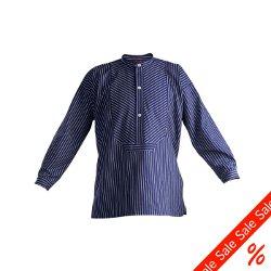 Overstock - Barn Fiske tröja - Gr. 110 färg flottan randiga