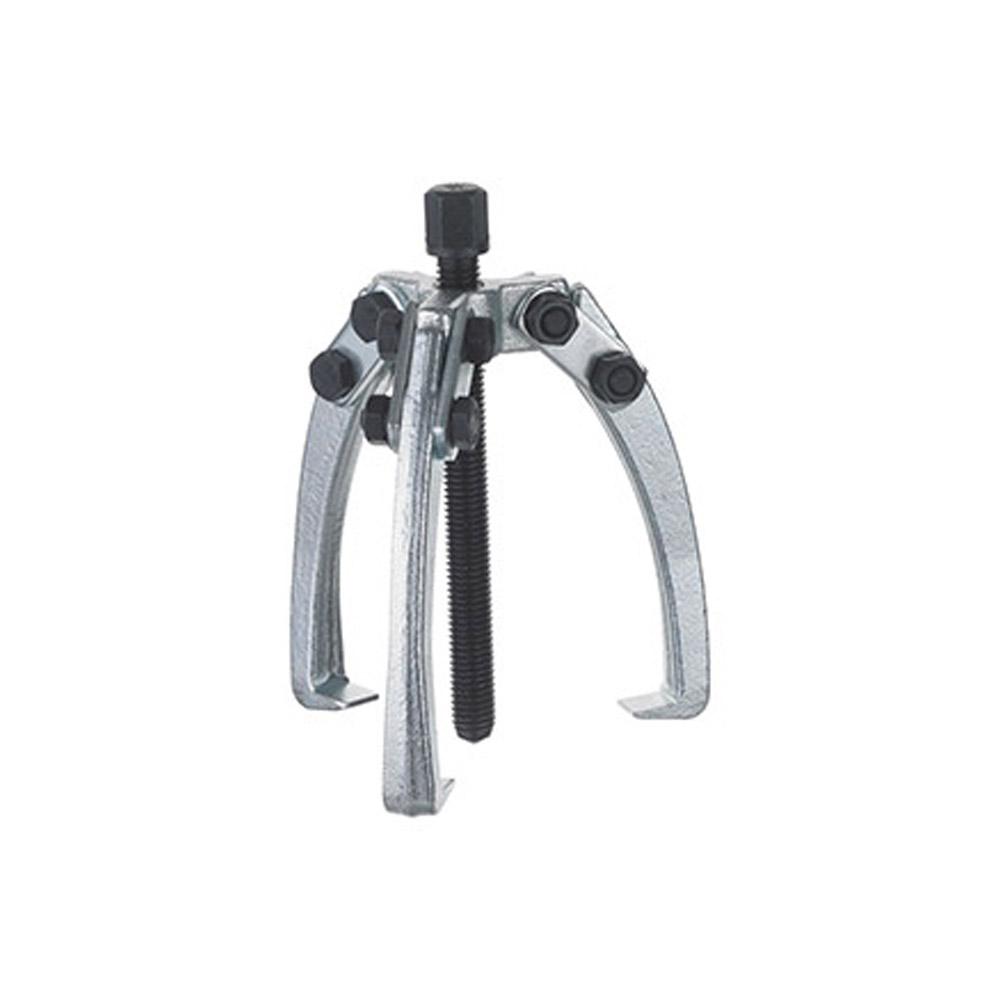 Mini-Abzieher - 3-armig - Spannweite 10 bis 90 mm - Spanntiefe 40 bis 84 mm - max. Drehmoment 20 Nm - max. Belastung 1,2 bis 2,5 t