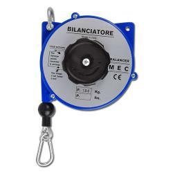 """Equilibreur à ressort """"A2"""" - charge 1,5-3 kg - boîtier Ø 130 mm - longueur du câble 1,65-2,5 m"""