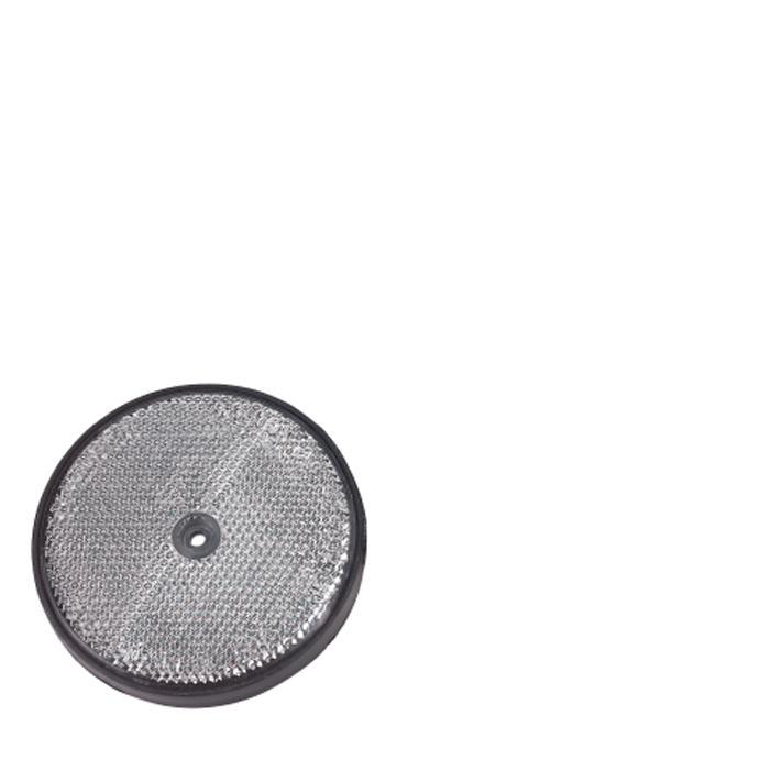 Begrenzungsrückstrahler - Ø 60 mm - Verschiedene Ausführungen - VE 4 Stück - Preis per VE
