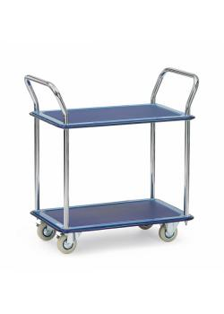 All-steel car - 120 kg - 2 shelves