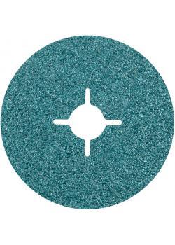 Fiberscheibe - PFERD - Zirkonkorund Z - D x H 115 bis 180 x 22 mm - Korngröße 24 bis 120 - Preis per Stück