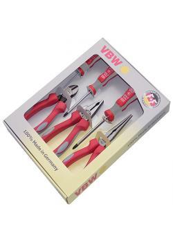 Tänger - MK-handtag plus - längd 160-200 mm - 6 delar