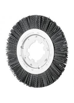 Rundbürste - PFERD - ungezopft, aus Keramikkorn - für den stationären Einsatz