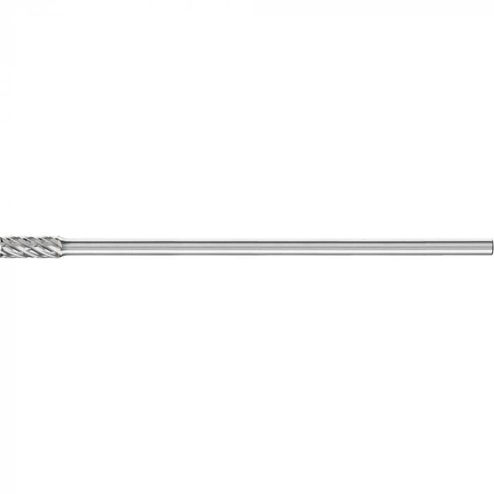 PFERD HM-Frässtift - Zylinderform ZYAS mit Stirnverzahnung - STEEL - Frässtift-Ø 8 bis 12 mm - Schaft-Ø 6 mm - SL 150 mm