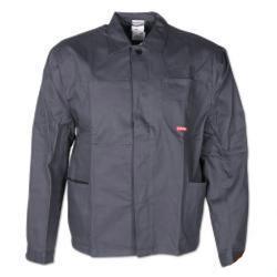 "Bundjacke ""MG 290"" Planam - 100 % Baumwolle - Größe 60 - grau"