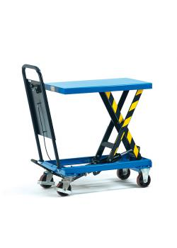 Lifting platform - tubular push handle fixed screwed - 250 kg